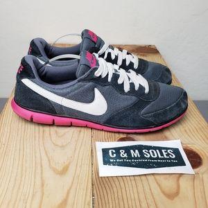 Nike Internationalist 2011 Black Pink Running